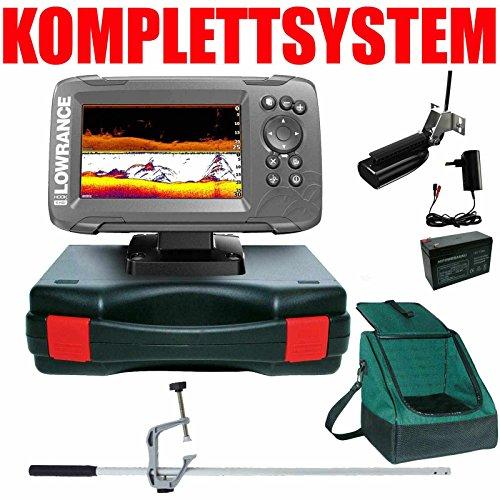 Lowrance Echolot GPS Portabel Master Plus Hook2 5 SplitShot HDI Chirp Combo GPS Lowrance Combo Gps