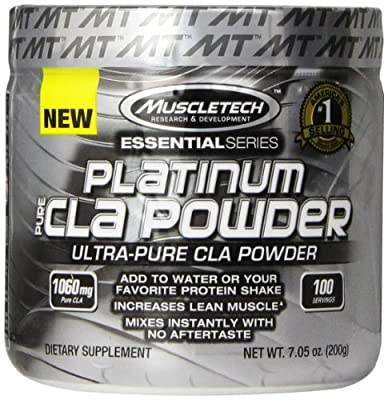 MuscleTech Platinum Pure CLA Powder, 100 Count 200g from PREMIUM SUPPLEMENTS - USD