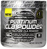 Best MuscleTech Weight Gain Supplements - Muscletech Platinum Pure CLA Powder 100 Servings Sports Review