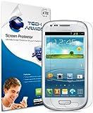 Tech Armor Samsung Mini Galaxy S III Mini High Defintion (HD) Clear Screen Protectors - Maximum Clarity and Touchscreen Accuracy [3-Pack] Lifetime Warranty