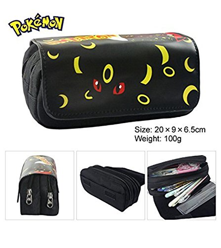 Kids Craze Reino Unido Umbreon Pokemon estuche dos compartimentos