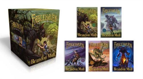 Fablehaven: Complete Set (Boxed Set): Fablehaven / Rise of the Evening Star / Grip of the Shadow Plague / Secrets of the Dragon Sanctuary / Keys to the Demon Prison