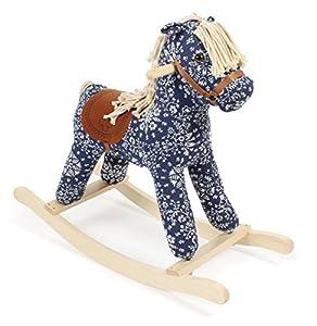 Bayer Chic 200040602, Columpio balancín, caballo, 36m+, color azul