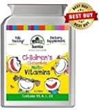 Fab Tasting Children's Chewable Multivitamins (120 Pack size) 4 Month Supply of Nutritional support for your children - Suitable for Vegetarians. Manufactured in UK. Sentia Kids Multi-Vitamins contain the vital Vitamin D3 . Quality Assured, GMP certified product. Raspberry & Fruit Punch Flavour, Chewable Kids Vitamins. Great Price! Try our Nutritious Sentia Childrens Vitamins supplement today, the Kids will love them. 100% Satisfaction.