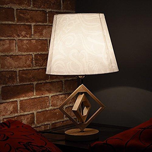 JIEJING Vintage lámpara de mesa,Simple Creativo Personalidad ...