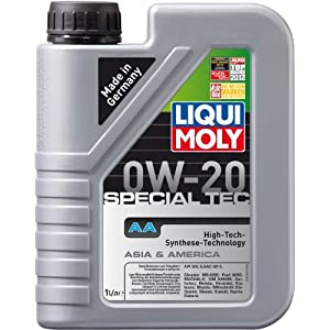 Liqui moly special 20–tec aA 0W moteur pas cher