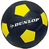 Fußball gummiert verschiedene Farben griffig mit Noppen Spiel Ball Größe 5 Indoor Outdoor (Gelb)