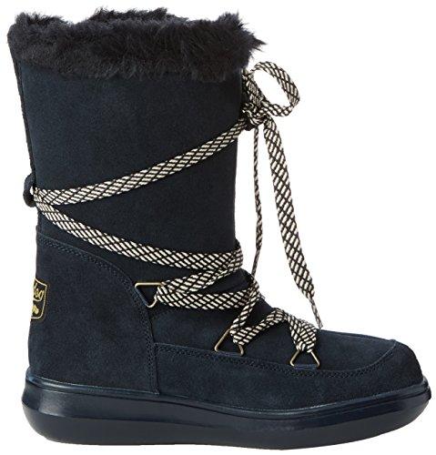 Scarponi Da Neve Per Cani Snowcrush Caldi Stivali Da Neve Imbottiti Blu (navy Bg7)