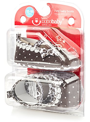 Bobobaby Baby Mädchen und Jungen Bobobaby Babyschuhe Hausschuhe ZB-107 Braun