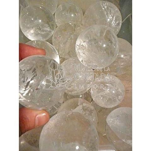 Boules en cristal de roche, extra de qualité (250 g)