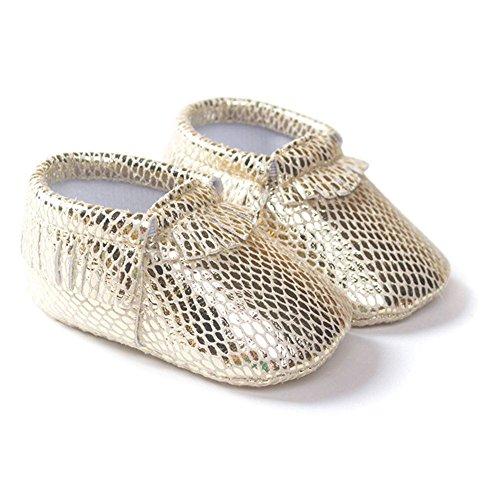 Moresave , Chaussures premiers pas pour bébé (fille) F