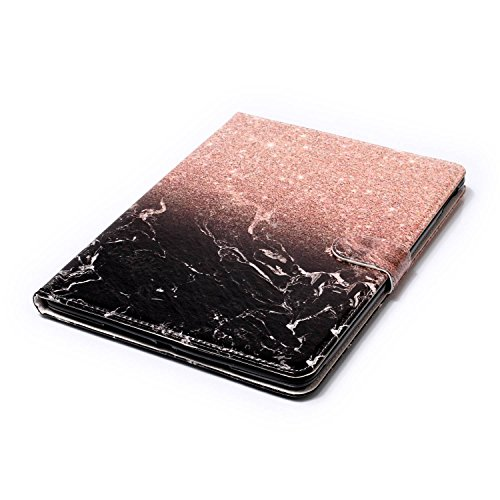iPad IPad pro 10.5 Custodia per IPAD iPad pro 10.5 inch, inShang Smart Cover case in pelle PU, supporto per tenere L'iPad sollevato, magnetico per sleep e standby + inShang Logo pennino di alta classe Rose gold black marble