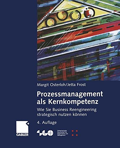 Prozessmanagement als Kernkompetenz: Wie Sie Business Reengineering strategisch nutzen können (Schweizerische Gesellschaft für Organisation und Management)