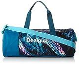 Desigual Women's Bols Cili Woven Sleeveless Golf Bag w, Blue, 50x 25x 30cm 67X5SB5