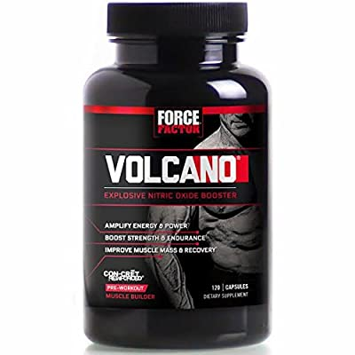 Force Factor - VolcaNO Pre-Workout Explosive Nitric Oxide Booster - 120 Capsules from Force Factor
