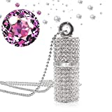 Best Jewelry Gifts for all Friends Diamond Necklaces - mi ji 8GB USB Flash Drive Bling Rhinestone Review