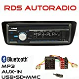 AUTORADIO GXR550 USB SD MP3 Bluetooth UKW/MW für Citroen C1 Peugeot 107 >2014