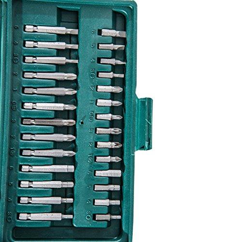 Homcom 59/94/108-tlg. Werkzeug Set Satz Steckschlüssel Kasten Kfz Werkzeugkoffer Knarrenkasten (Modell 1) - 3