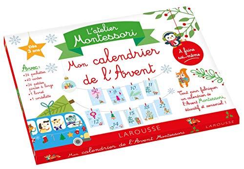 Mon atelier Montessori calendrier de l'avent par