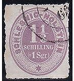 Goldhahn Schleswig-Holstein Nr. 10 gestempelt und Geprüft Briefmarken für Sammler