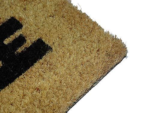 51lJY6nVP9L - koko doormats Felpudo de Star Wars para Entrada de Casa Original y Divertido/Fibra Natural de Coco con Base de PVC, 40x60 cm (A-Welcome to my Empire)