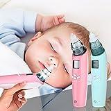 Baby aspiratore nasale elettrico, nuovo aspiratore nasale elettrico per con musica Nasal dispositivo di aspirazione naso chiuso sicuro igienico Tool Cleaner con schermo HD LCD 3aspirazione regolabile