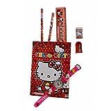 #7: VITREND Hello Kitty School Stationery Gift Set (Multicolor)