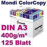 Mondi ColorCopy Ramette de 125 feuilles de papier pour imprimante laser et jet...