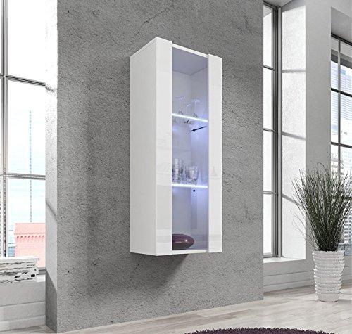 Muebles Bonitos – Armario Colgante modelo Zarco en color blanco