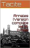 Annales (Version complète les 16 livres) - Format Kindle - 0,99 €