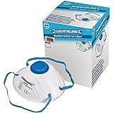Silverline 282590 Boîte de 10 masques protecteurs à valve moulés FFP2