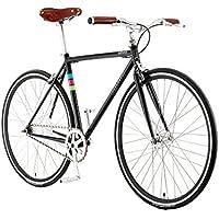 Bibóo Bikes Gekko Bicicleta Eléctrica, Unisex Adulto, Negro, ...