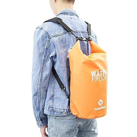 Foto & Tech Orange 0,9Wasserdicht Dry Bag Rolle Top Dry