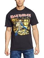 Iron Maiden Men Piece of Mind Short Sleeve T-Shirt