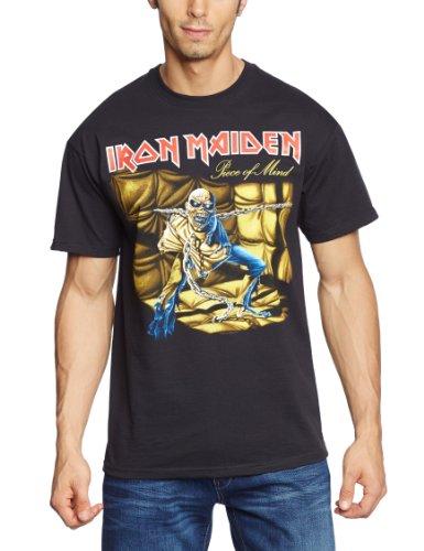 Image of Iron Maiden Men Piece of Mind Short Sleeve T-Shirt, Black, Medium