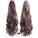 FULLY Fashionable Hair Styling Curly Ponytail Hair Extension For Women Dark Brown Color