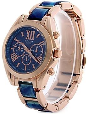 Damen und Mädchen Quarz-Armbanduhr Elegant Schicke Uhr Modisch Zeitloses Design