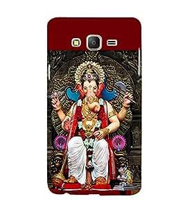 Ganpati 3D Hard Polycarbonate Designer Back Case Cover for Samsung Galaxy On7 G600FY :: Samsung Galaxy On 7 (2015)