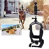 Hundegeschirr, verstellbar, Brustgurt, Halterung für GoPro Hero 6/5/5 Session, 4 Session, 4/3+, 3/2/1, andere Action-Kameras,Kompatibel mit den meisten Action-Kameras