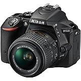 Nikon D5500 SLR-Digitalkamera (24 Megapixel, 8,1 cm (3,2 Zoll) Touchscreen-Display, bildstabilisiert, Full-HD-Video, Wi-Fi) Kit inkl. 18-55mm VR II Objektiv schwarz