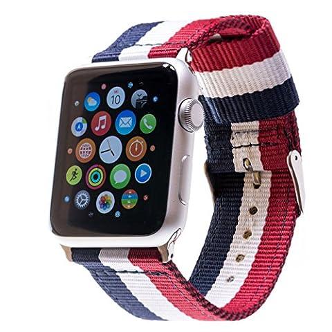 Premium Nato Apple Watch Armband für Apple-Watch 1. & 2.