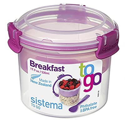 Sistema To Go Compact Breakfast Storage Container : everything five pounds (or less!)