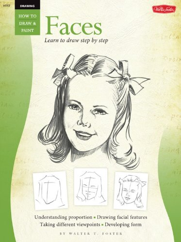 Heads: v.1: Vol 1 (How to Draw and Paint)