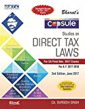 Capsule Studies on DIRECT TAX LAWS (A.Y. 2017-18) - for CA Final November 2017 exams