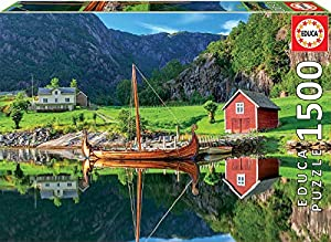 Educa Borras Puzzle Barco Vikingo 1500 Piezas (18006)