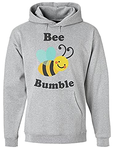 Bee Bumble Awesome Flying Bee Design Men's Hoodie Pull à capuche pour hommes Medium