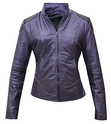 Hit Girl Kick-Ass 2 Chloe Moretz, Synthetik Mintz Kostüm Jacke, Duffle, - Kickass Kostüm Von Hit Girl
