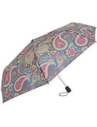 Susino - Paraguas plegable con estampado cachemir