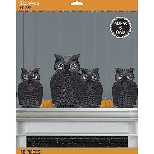 Jolee's Boutique 50–-WINGENROTH Jolee 's Spooky Eule 3D Decor Kit 58Pcs
