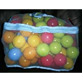 Chad Valley Bag of 100 Multi-Coloured Play Balls. by Chad Valley